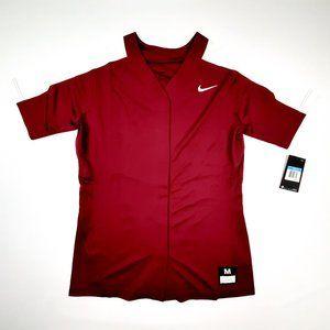 Nike Women's Softball Jersey Size Medium Maroon DO